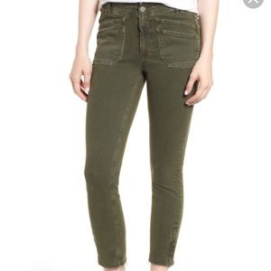 New! Paige • Hoxton Utilitarian High Rise Jeans
